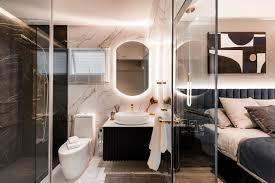 open concept bathrooms practical idea or just daring