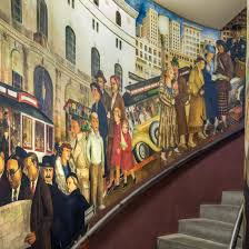 Coit Tower Murals Images by Coit Tower Murals Arg Conservation Services Inc