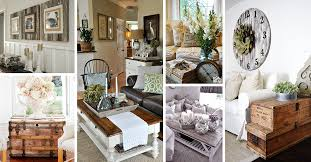 27 Best Rustic Chic Living Room Ideas And Designs For 2018 Inside Decor 17