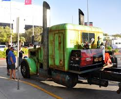 Just A Car Guy: The Welder Up Crew Brought A Newish Semi To SEMA ...