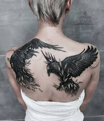 Raven Tattoo Meanings Designs And Ideas