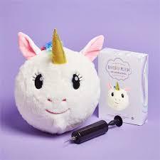 Cupcakes Cartwheels Inflatable Unicorn Plush Ball