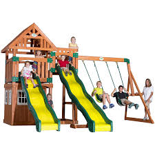 Amazon.com: Backyard Discovery Journey All Cedar Wood Playset ... Shop Backyard Discovery Prestige Residential Wood Playset With Tanglewood Wooden Swing Set Playsets Cedar View Home Decoration Outdoor All Ebay Sets Triumph Play Bailey With Tire Somerset Amazoncom Mount 3d Promo Youtube Shenandoah