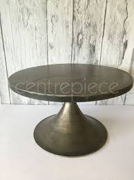 Cake Stand Brushed Bronze Extra Large 50cm
