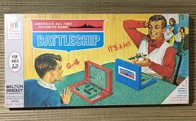 Vintage 1967 BATTLESHIP Board Game 4730 O Milton Bradley Company USA