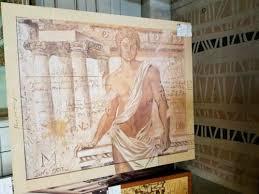 antikes gemälde sehr schön fürs wohnzimmer