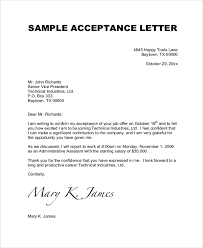 reply to offer letter acceptance Asafonec