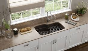 inspiring kitchen sink with 2 faucets creative franke adds color