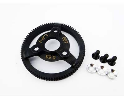 Hot Racing Traxxas Electric Rustler Steel Spur Gear - 48p, 86t