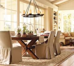 Rustic Dining Room Table Furniture Country Style Pict Plain