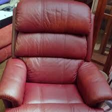SOLD Leather Recliner Chair Downtown OKC