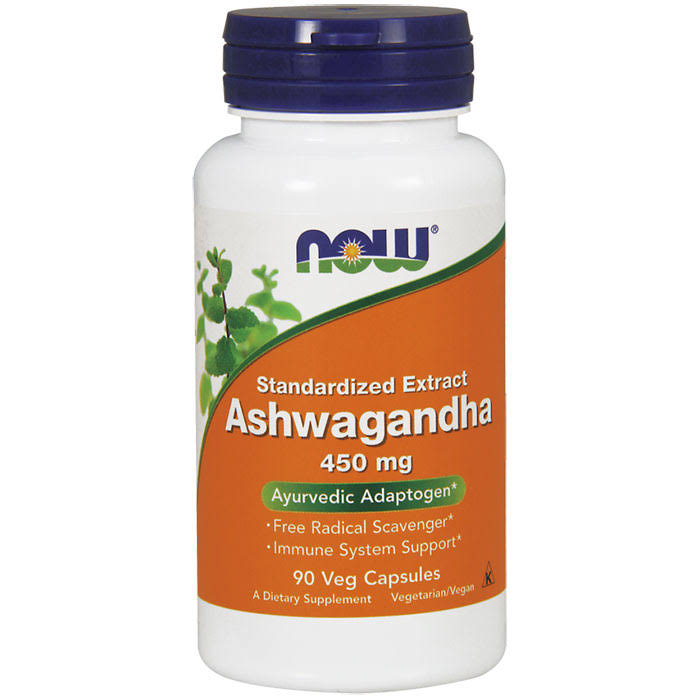 Now Foods Ashwagandha Extract 450mg Dietary Supplement - 90 Capsules