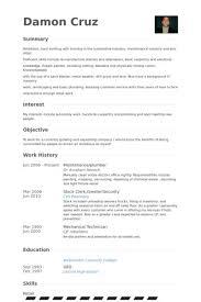 Cv Plumbing Example Impression Besides Maintenance Plumber Resume