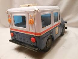 VINTAGE TOY METAL Tin Jeep Post Office Mail Truck Bank / 1/18 Scale ... This Toy Mail Truck Mildlyteresting Toy Ups Truck Unboxing Bonus Mail Youtube Amazoncom Usps Toywonder 1 Toys Games It Was Time To Update This Model Too Especiall Flickr Vintage American Flyer Us Pedal Car Cottone Auctions Matchbox Casting Change In The 2015 Easter Kroger Singles Cheap Find Deals On Line At Alibacom 1960s Structo With Sliding Doors Fisher Price Little People Post 127 Replacement Details Toydb Cast Iron Mail Die Cast Army 3750 Pclick