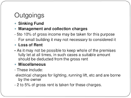 Sinking Fund Formula Derivation by Chapter 13 Valuation