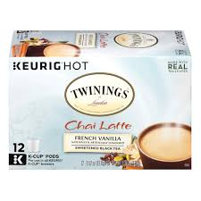 Keurig 20 Pumpkin Spice Latte by Twining U0027s French Vanilla Chai Latte K Cups 12 Count