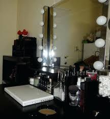 vanities vanity with lights and drawers makeup vanity with