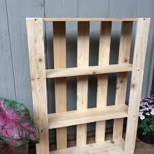 Shelves Pallet Wood Coat Rack nobailout