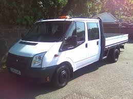 Used Ford Transit Dropside 2.2 Tdci 350 L Double Cab Dropside Truck ...