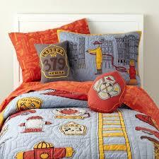 Decoration: Firefighter Crib Bedding Wondrous Fire Engine Wall Art ...