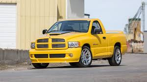 2005 Dodge Ram SRT-10 Yellow Fever Edition | T216 | Indy 2017 Mrnormscom Mr Norms Performance Parts 1967 Dodge Coronet Classics For Sale On Autotrader 2017 Ram 1500 Sublime Green Limited Edition Truck Runball Family Of 2018 Rally 1969 Power Wagon Ebay Mopar Blog Rumble Bee Wikipedia 2012 Charger Srt8 Super Test Review Car And Driver Scale Model Forums Boblettermancom Lomax Hard Tri Fold Tonneau Cover Folding Bed Traded My Beefor This Page 5 Srt For Sale 2005 Dodge Ram Slt Rumble Bee 1 Owner Only 49k