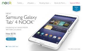 Barnes & Noble Begins Selling The Samsung Galaxy Tab 4 Nook A
