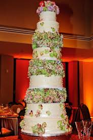 chocolate buttercream for the bride s cake The design featured handmade edible pearls and tiers of gorgeous hydrangeas in the most beautiful colors I