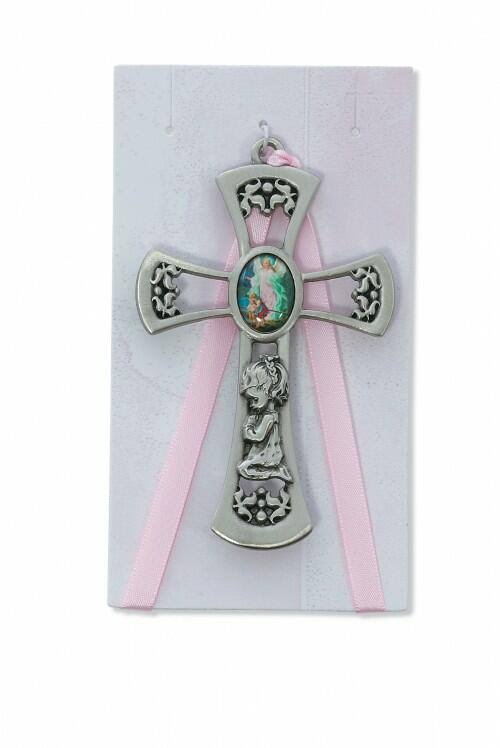 McVan Guardian Angel Cross Crib Medal