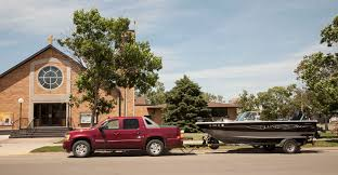 Fishing Boat And Church - Diocese Of Rapid City