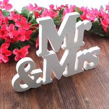 Cheap Wedding Decorations Online by Online Shop Wedding Decorations 3 Pcs Set Mr U0026 Mrs Romantic