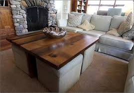 Coffee Table With Chairs Underneath by Coffee Table Ottoman Collection For The Home Pinterest