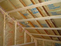 Insulating A Vaulted Ceiling Uk by Insulation What U0027s The Best Way To Keep My Garage From Freezing