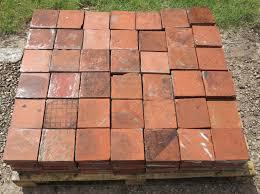 reclaimed terracotta quarry floor tiles 6 x 6 salvoweb