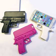 Toy Grip Shape Hard Case Cover Skin for iPhone 4 5 5c 5S 6 6S Plus