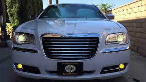 2014 chrysler 300c 3000k hid fog lights and cree led signals
