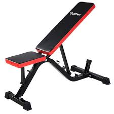Adjustable Foldable Durable Compact Exercise Bench Sport Fitness