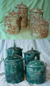 Turquoise Kitchen Canister Sets by Canister 2420set Jpg