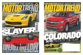 MOTOR TREND Names Chevrolet Colorado 2015 Truck Of The Year - Hero ...