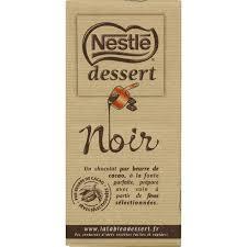 nestlé chocolat noir monoprix fr