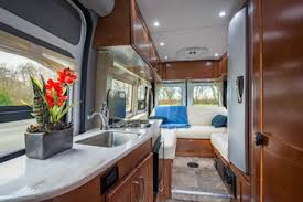 Deluxe Van Conversion Camper DVC From CanaDream RV Rentals