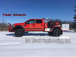 100 Fire Brush Truck West Chicago Department 1st Attack Engineering