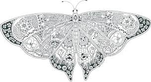 Colouring Pages Of Butterflies Butterfly Coloring Pics Printable Cute