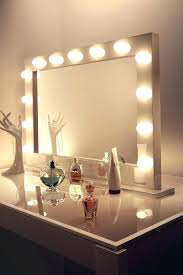 Mirror With Light Bulbs Ikea Awesome Makeup Mirror With Lights