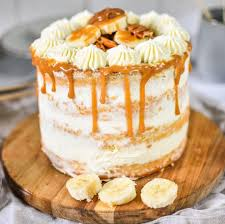 bananen toffee torte