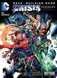 dc comics deck building game crisis expansion pack 1 board game