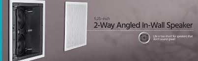 30 Degree Angled Ceiling Speakers by Alpha Ceiling Speaker Dual 5 25 Inch Carbon Fiber Surround 2 Way