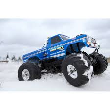 BIGFOOT Classic 1/10 Scale RTR Monster Truck; Blue - HobbyQuarters The List 0555 Drive A Monster Truck Trucks Lifted Ford Bigfoot 5 Specialty Trigger King Rc Radio Controlled Legendary Goes West Big Boy Toy Store Open For Biz Bigfoot Toys Best Resource He Exists 4x4 House Jun 4 2011 56k Go Away 1 Brushed 360341 Dub Magazine Hundreds X Collab For Beamng 44 Inc Hazelwood Missouri Wallpapers
