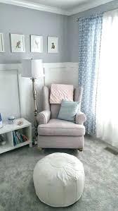 Ottoman For Baby Room Sweet And Calm Gray Nursery Pottery Barn
