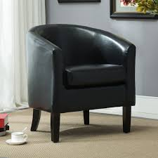 Club Chair Tub Faux Leather Armchair Seat Accent Living, Black ... Chairs Faux Leather Chair And Ottoman Wheeled Set Ovela Recliner Brookdale Settee Bench Roman Red Bedroom Retreat Baxton Studio Chairdsgncom Shop Best Selling Home Decor Freemont Chocolate Club Armchair Rotating Original Armchairs Ikea Amy Styles Recliners Ikea For Inspiring Stylish Ideas Cara Faux Leather Armchair Living It Up White Modern Design 2017 Quality Interior Office Star Pacific Easycare Light Gray