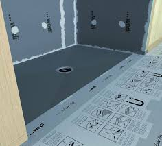 wedi shower systems shower pans